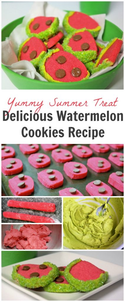 TOTS Family, Parenting, Kids, Food, Crafts, DIY and Travel Delicious-Watermelon-Cookies-Recipe-424x1024 Delicious Watermelon Cookies Recipe Desserts Food TOTS Family  summer recipes summer recipe summer baking cookies cookie recipe baking