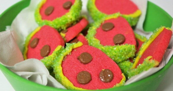 Delicious Watermelon Cookies Recipe