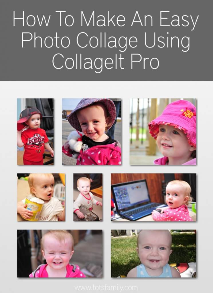 How To Make An Easy Photo Collage Using CollageIt Pro