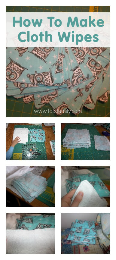 TOTS Family, Parenting, Kids, Food, Crafts, DIY and Travel How-To-Make-Cloth-Wipes Cloth Wipes - How to Make them for Cloth Diapering Health & Wellness Home TOTS Family Uncategorized  wipes natural parenting cloth diapers cloth diapering cloth