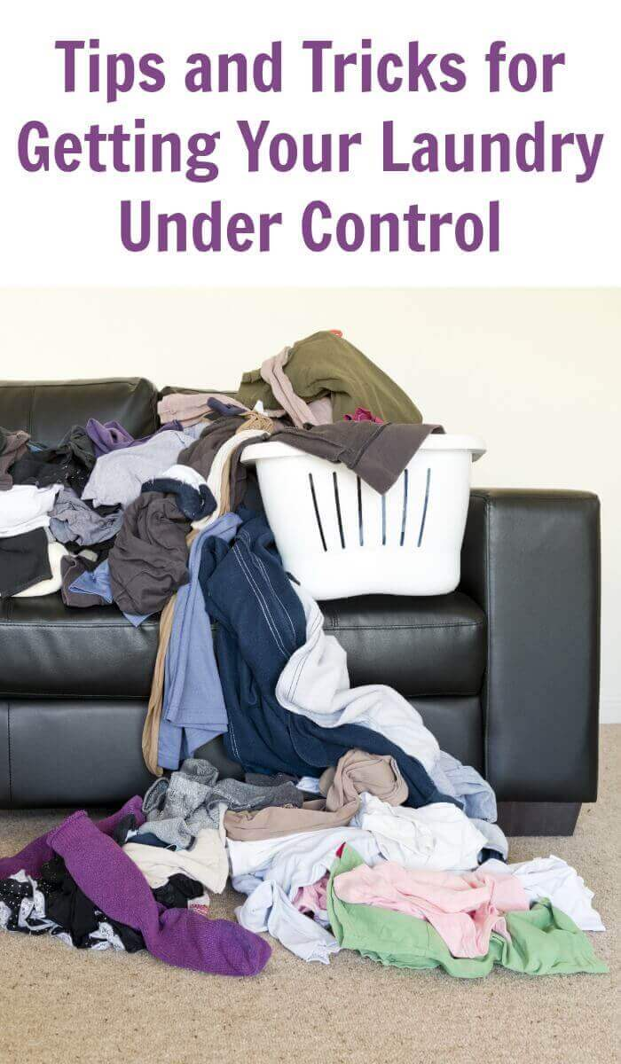 Tips and Tricks for Getting Your Laundry Under Control