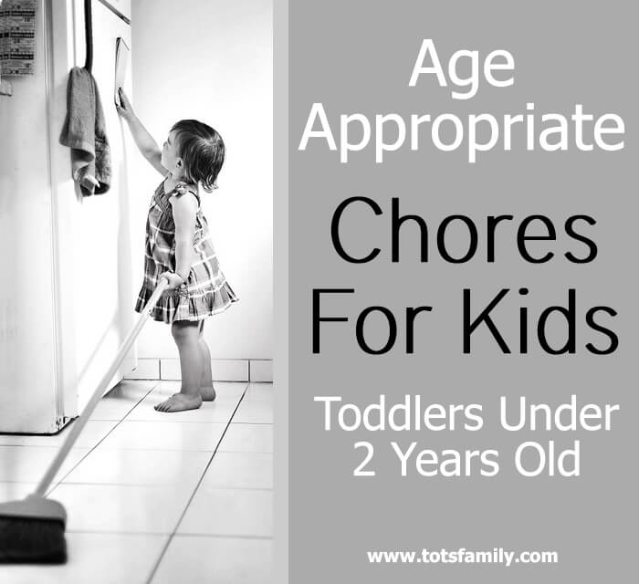 Age Appropriate - Chores for Kids