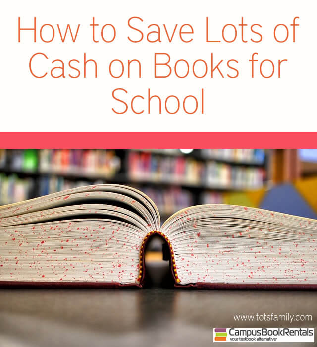 How To Save Lots of Cash on Books For School
