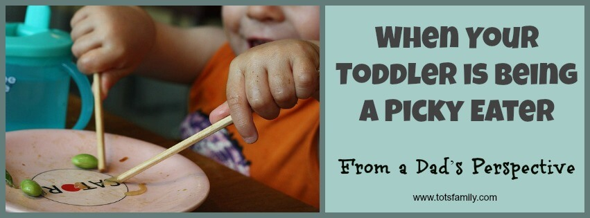 When Your Toddler is Being a Picky Eater – From a Dad's Perspective.