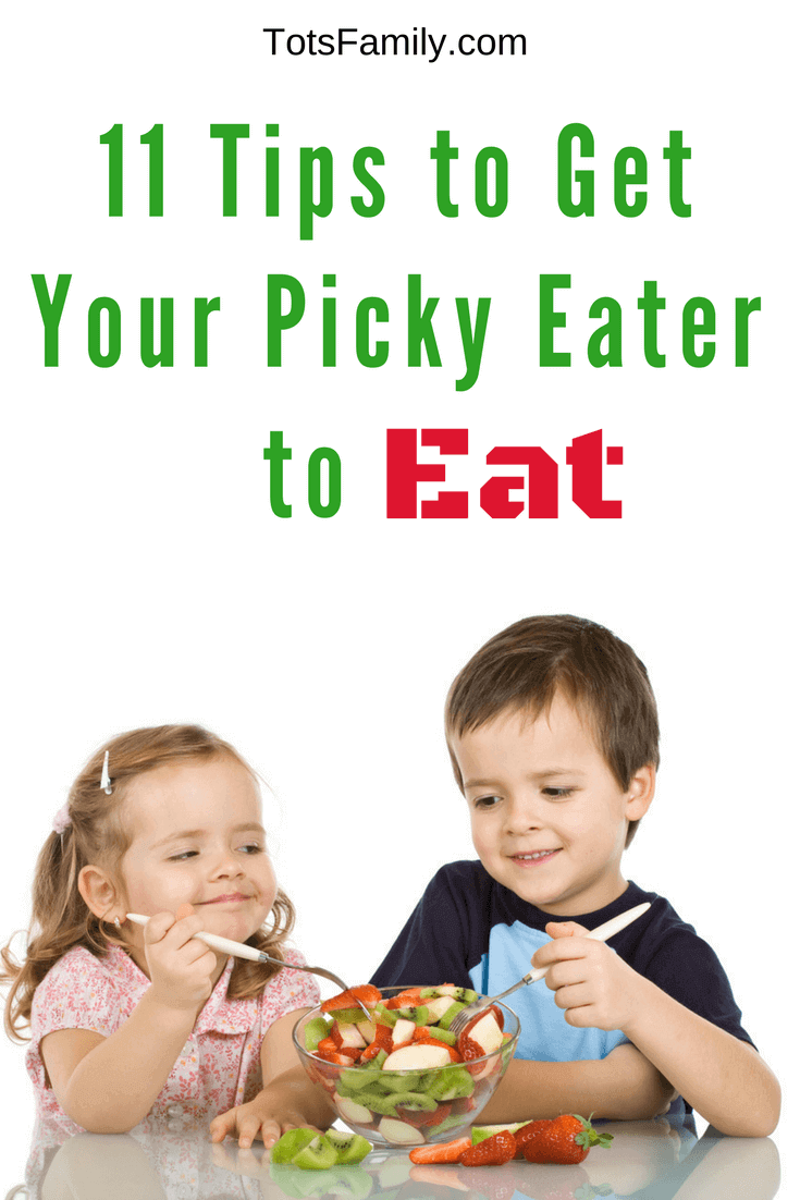 If you have a picky eater like I do, here are 11 Tips to get your Picky Eater to eat what you want them to.
