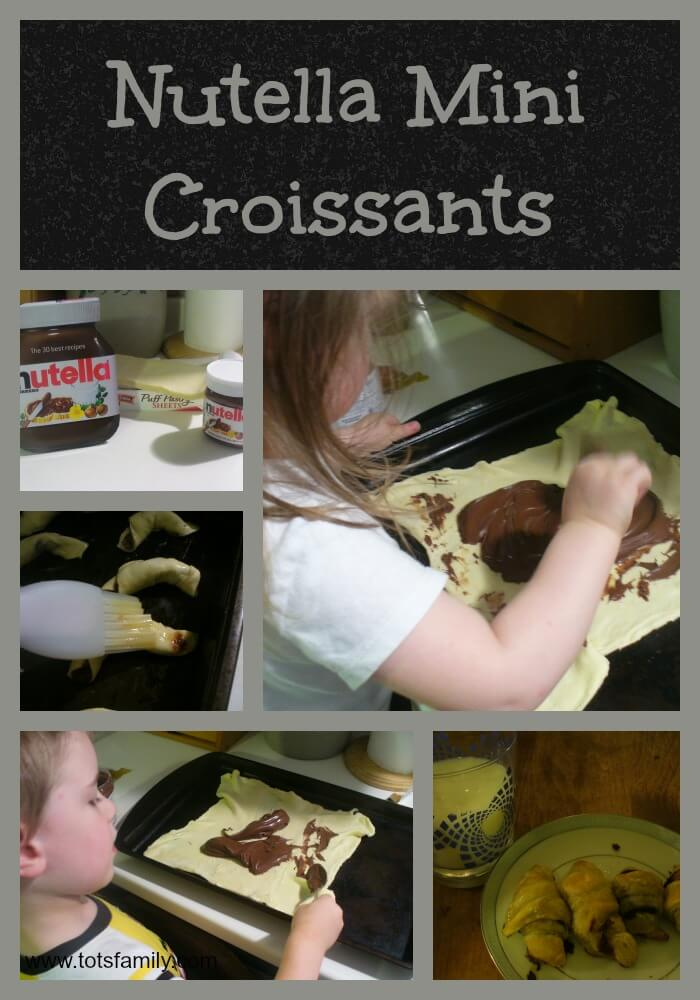 TOTS Family, Parenting, Kids, Food, Crafts, DIY and Travel Nutella-Mini-Croissants Nutella Mini Croissants Desserts Food  recipe nutella family croissants cooking cook