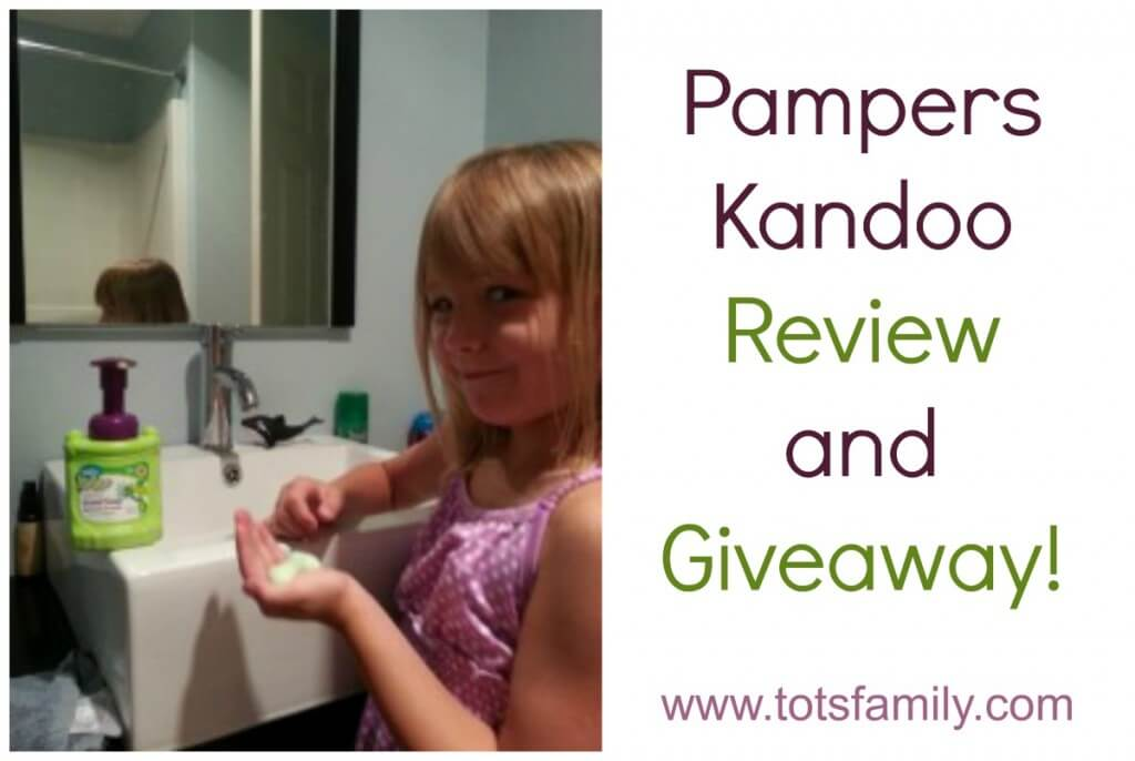 Pampers Kandoo Review and Giveaway!