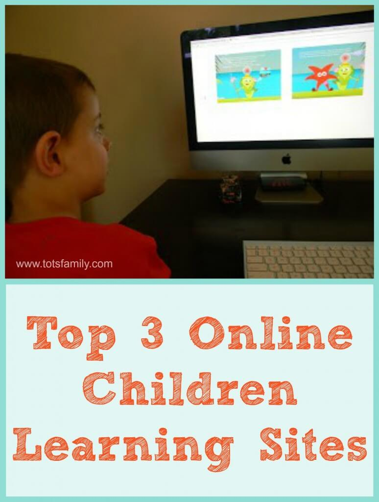 Top 3 Online Children Learning Sites