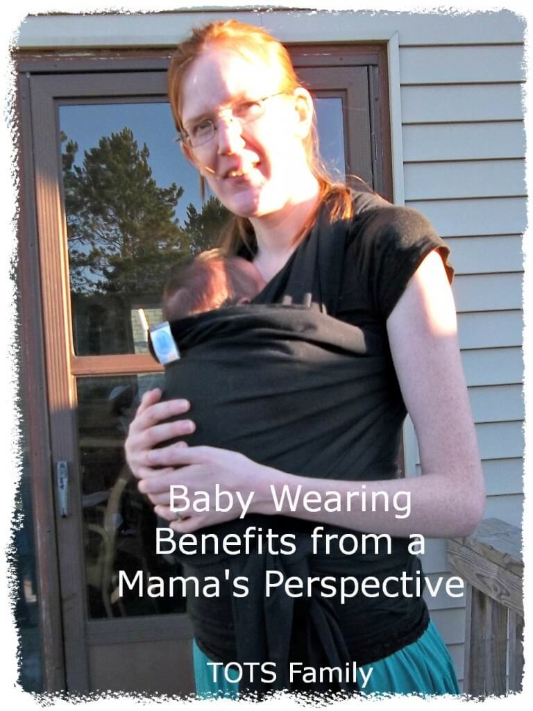 Baby Wearing Benefits from a Mama's Perspective