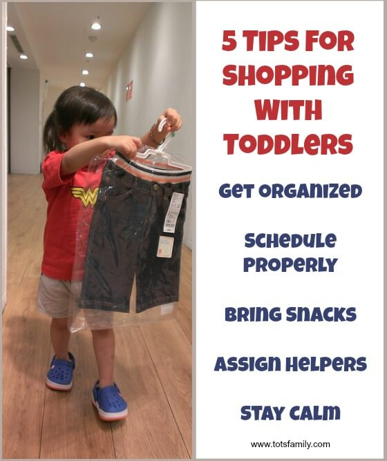 5 Tips For Shopping With Toddlers