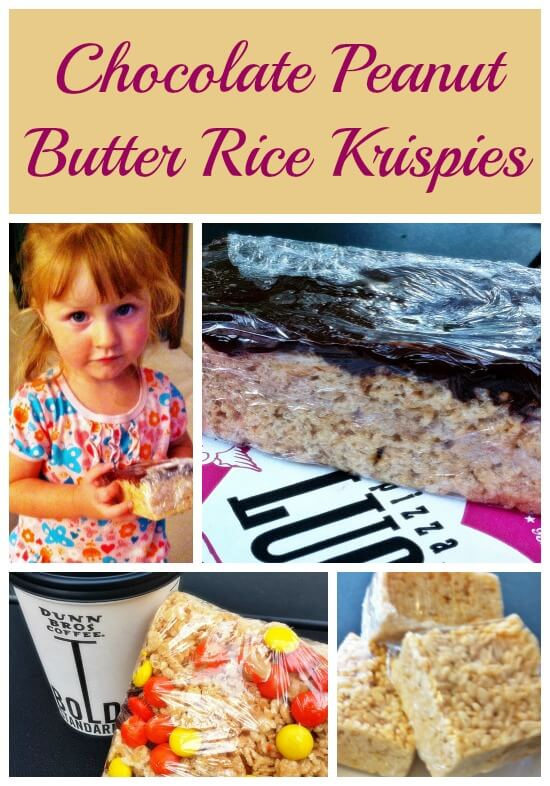 Chocolate Peanut Butter Rice Krispies with Printable Recipe Card