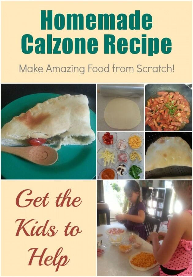 TOTS Family, Parenting, Kids, Food, Crafts, DIY and Travel Homemade-Calzone-Recipe Homemade Calzone Recipe - Make Amazing Food from Scratch! Food Main Dish  recipe pizza dough family meals calzone