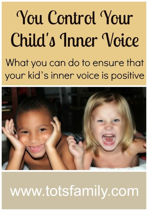 TOTS Family, Parenting, Kids, Food, Crafts, DIY and Travel You-Control-Your-Childs-Inner-Voice You Control Your Child's Inner Voice Parenting  special needs raising a child parenting parent inner voice children autism austism support