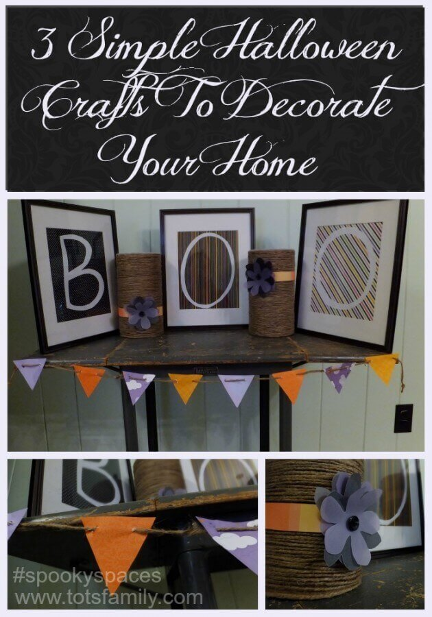 3 Simple Halloween Crafts To Decorate Your Home #SpookySpaces
