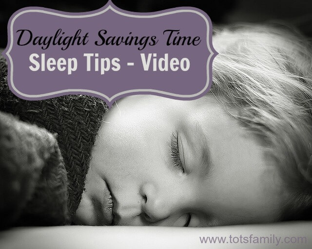 Daylight Savings Time Sleep Tips