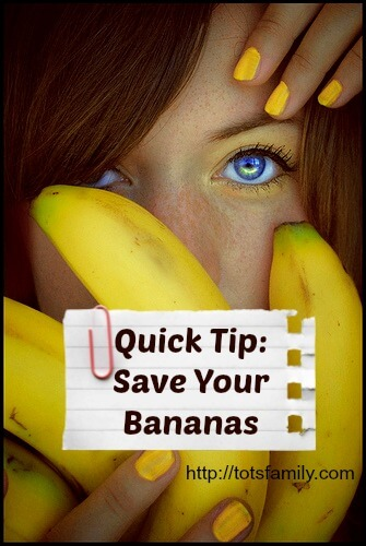 TOTS Family, Parenting, Kids, Food, Crafts, DIY and Travel banana3 Quick Tip: Save Your Bananas! Food  save banana ripen ripe brown bananas banana