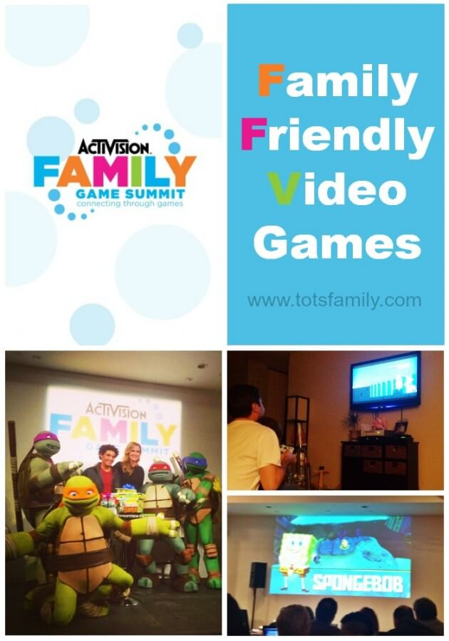 Family Friendly Video Games Activision Family Game Summit