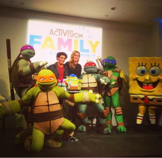 TOTS Family, Parenting, Kids, Food, Crafts, DIY and Travel photo-3 Family Friendly Video Games - Activision Family Game Summit Kids  video games tv tmnt spongebob skylanders family duck dynasty angry birds activision