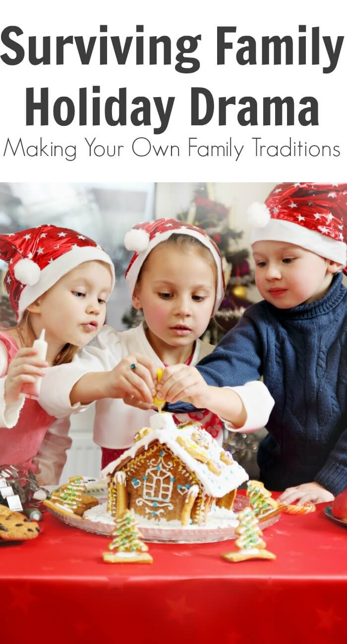 TOTS Family, Parenting, Kids, Food, Crafts, DIY and Travel Surviving-Family-Holiday-Drama-Making-Your-Own-Family-Traditions1 Surviving Family Holiday Drama: Making Your Own Family Traditions Parenting TOTS Family  traditions holiday traditions family traditions christmas