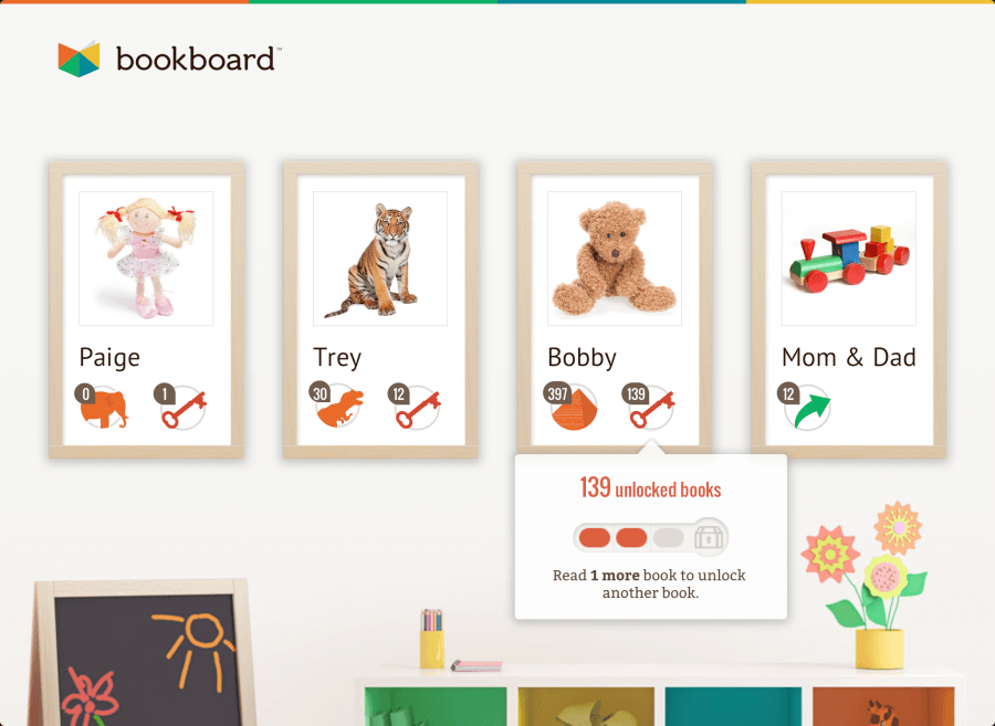 TOTS Family, Parenting, Kids, Food, Crafts, DIY and Travel Bookboard1 Encourage Your Child To Read - Bookboard Kids  reading apps reading read online reading kids app ipad children bookboard barenstein bears apps