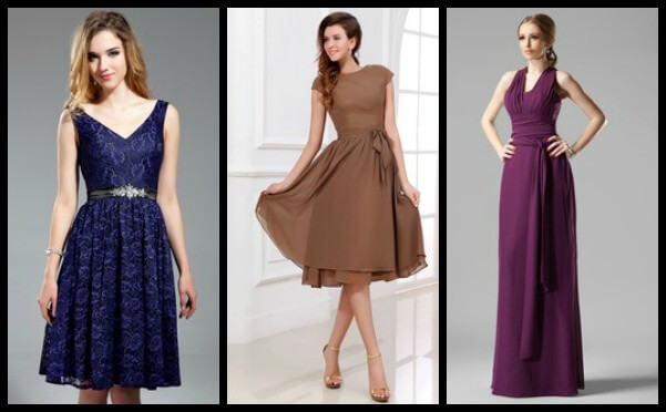 Bridesmaids Dresses with Straps - Dressfirst.com