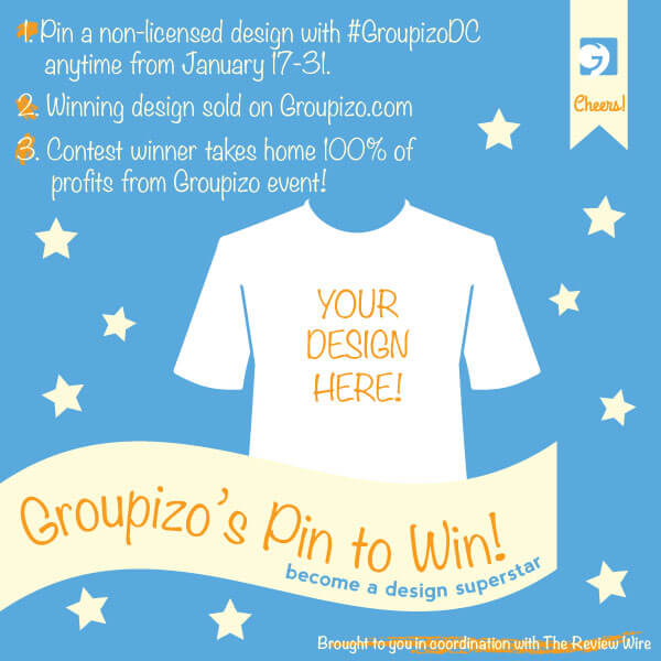TOTS Family, Parenting, Kids, Food, Crafts, DIY and Travel GroupizoPinToWin Win Big with Groupizo's Pin to Win Design Contest! Giveaways  giveaway