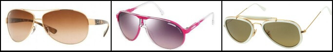 Pilot Style Sunglasses