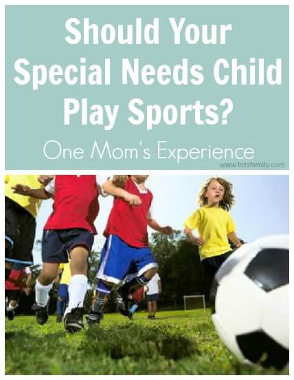 Should Your Special Needs Child Play Sports?
