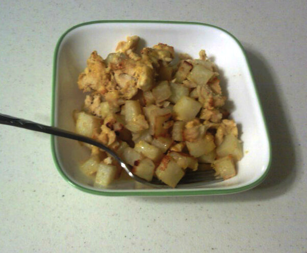 TOTS Family, Parenting, Kids, Food, Crafts, DIY and Travel Super-Easy-Chicken-and-Potatoes.-Delicious-and-Filling. Super Easy Chicken and Potatoes. Delicious and Filling. Food Main Dish  recipe potatoe meal family easy corn cook chicken