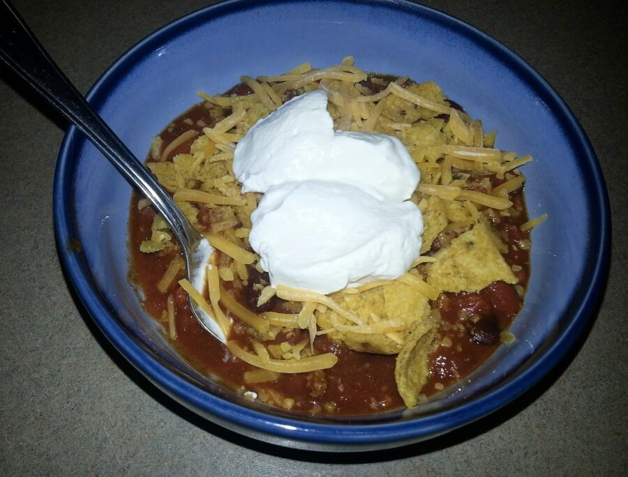 Super Easy Crockpot Chili