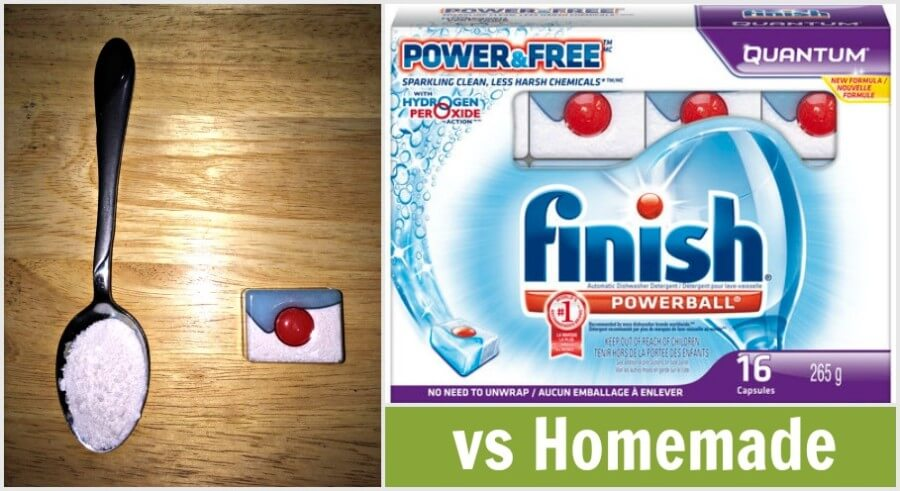 Finish Power and Free vs Homemade #finishpowerandfree