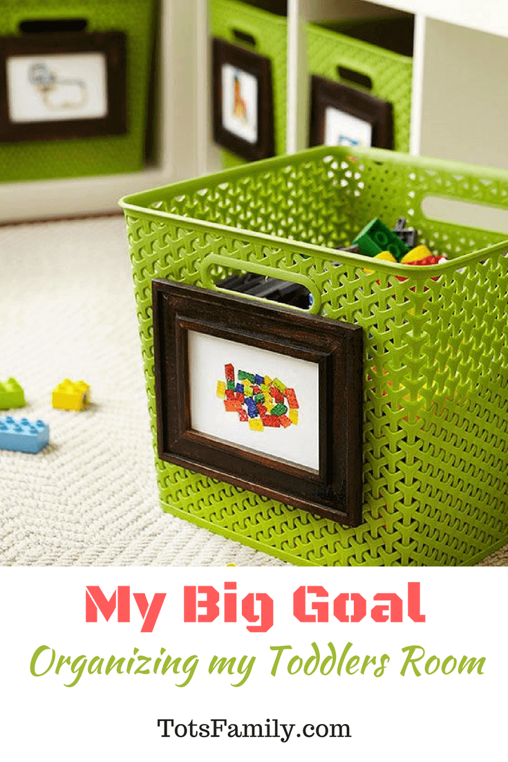 organize my toddler's room - I know there are so many parents out there that can relate to goals at home like this.