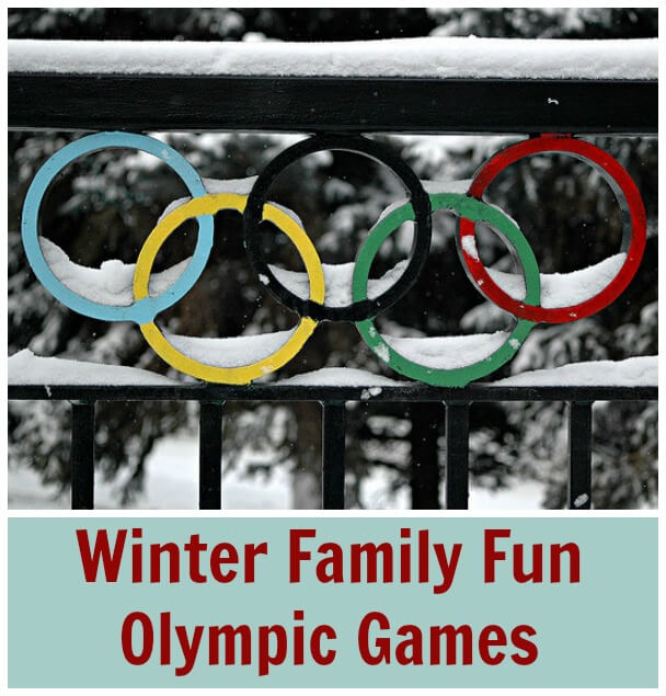 Winter Family Fun Olympic Games