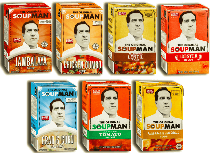 Warm Up With The Original Soupman Soup #Soupmanfan