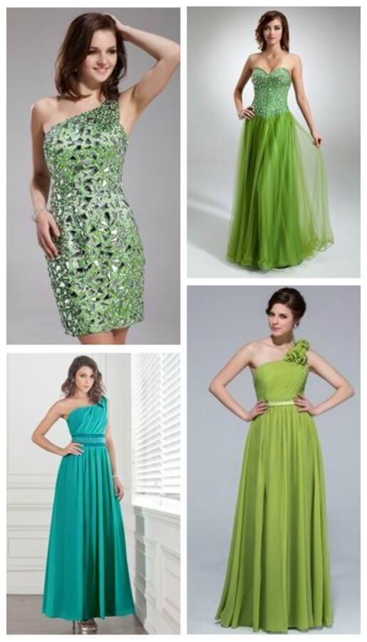 Best Green Prom Dresses