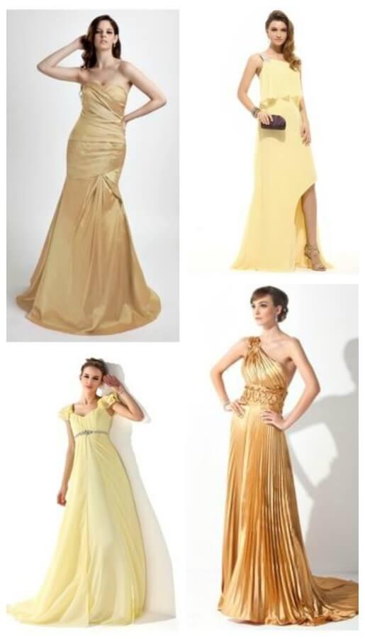 Best Yellow Prom Dresses