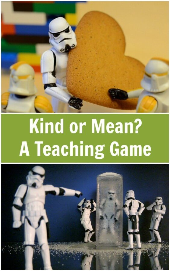 TOTS Family, Parenting, Kids, Food, Crafts, DIY and Travel Kind-or-Mean-A-Teaching-Game Kind or Mean?  A Teaching Game Homeschooling Kids Learning Parenting  teaching children challenging behaviour behaviour