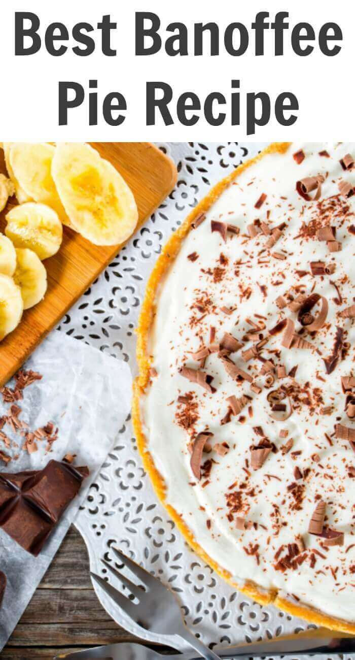 TOTS Family, Parenting, Kids, Food, Crafts, DIY and Travel best-banoffee-pie-recipe Best Banoffee Pie Recipe Desserts Food TOTS Family  St. Patrick's Day recipe pie irish desserts ireland desserts caramel Banoffee PIe