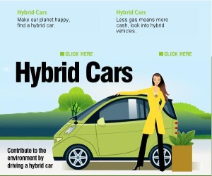 image from hybrid car