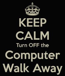 TOTS Family, Parenting, Kids, Food, Crafts, DIY and Travel keep-calm-turn-off-the-computer-walk-away-257x300 Earth Day: 20 Small Changes You can Make Home Parenting TOTS Family Uncategorized  save reuse recycle planet family families ecofriendly earth day earth april 22