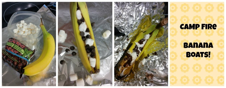 Campfire Banana Boats – Super Yummy and Easy