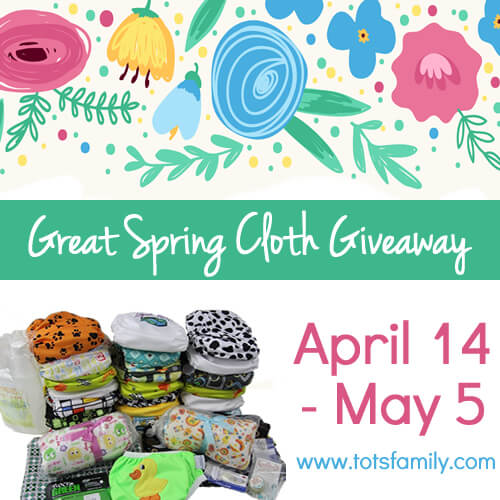 Great Spring Cloth Giveaway