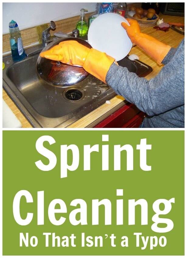 Sprint Cleaning: No That Isn't A Typo