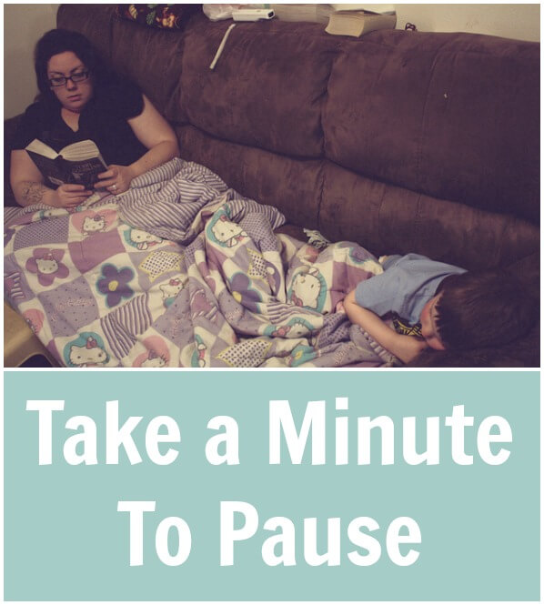 TOTS Family, Parenting, Kids, Food, Crafts, DIY and Travel Take-a-Minute-To-Pause Take a Minute To Pause Parenting  time relax pause parenting motherhood mom break