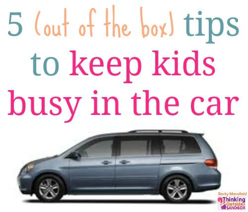 5 Tips to Keep Kids Busy in the Car