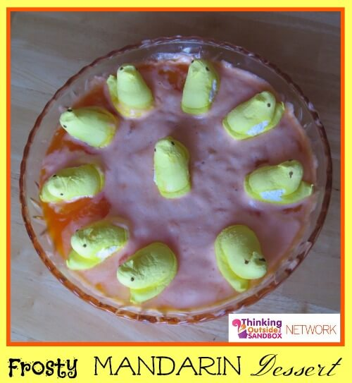 Frosty Mandarin Dessert, Thinking Outside the Sandbox Family