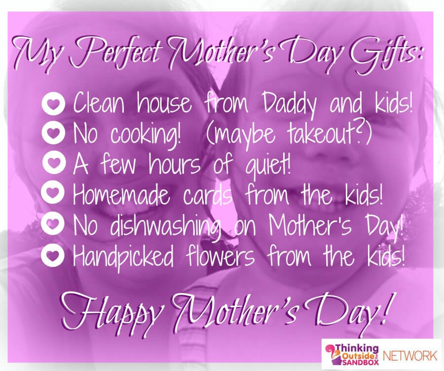 TOTS Family, Parenting, Kids, Food, Crafts, DIY and Travel mothers-day My Perfect Mother's Day Gifts Parenting Style  partner mother's day gifts mother's day mommy mom husband honoring mom gifts