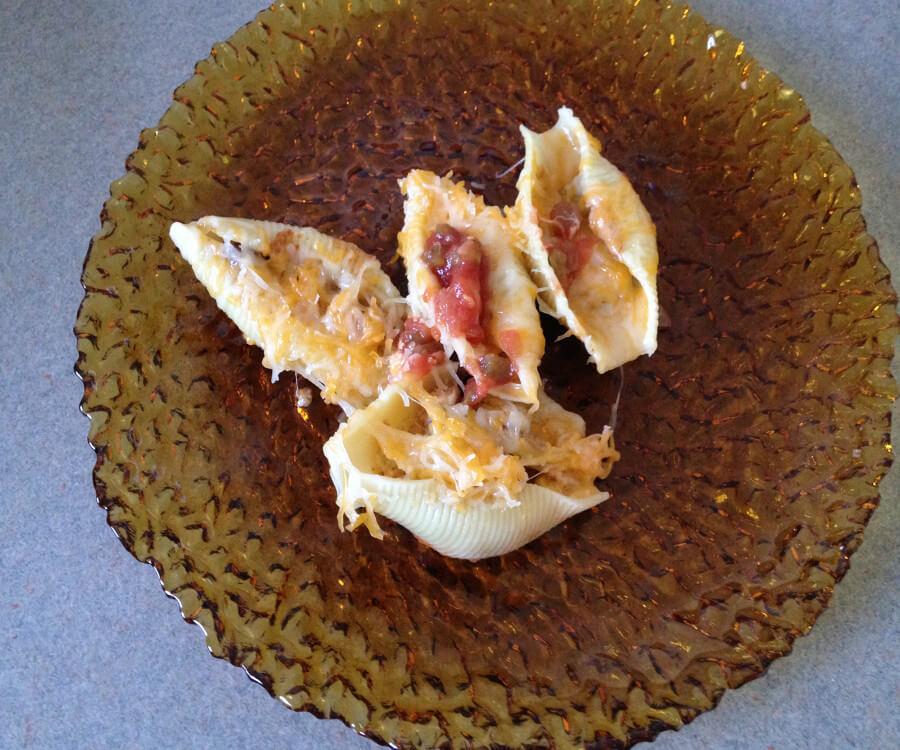 Skinny Mexican Stuffed Shells