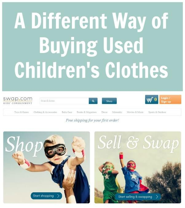 A Different Way of Buying Used Children's Clothes - Swap.com