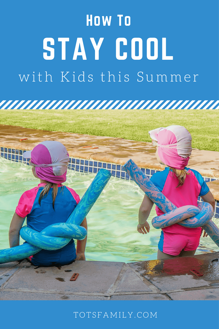 Summer is coming and I am already thinking of how to Stay Cool with Kids This Summer.